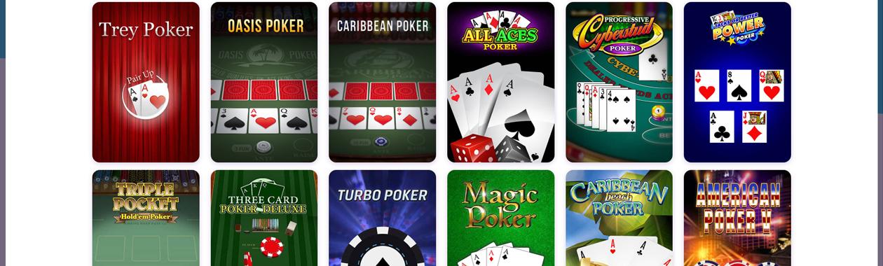 Pokerové hry v kasinu