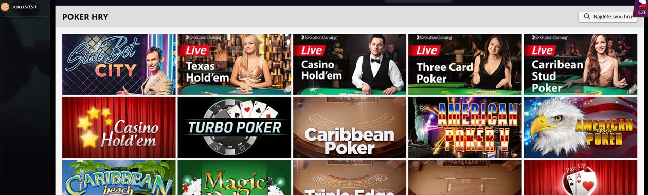 Živý poker