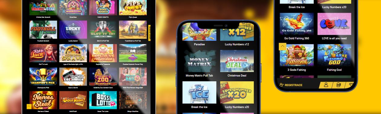 nejlepší kasinové hry na mobilních zařízeních