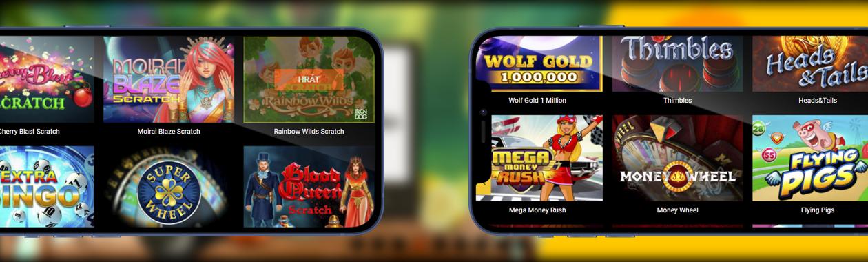 nejlepší online kasinové hry pro Čechy