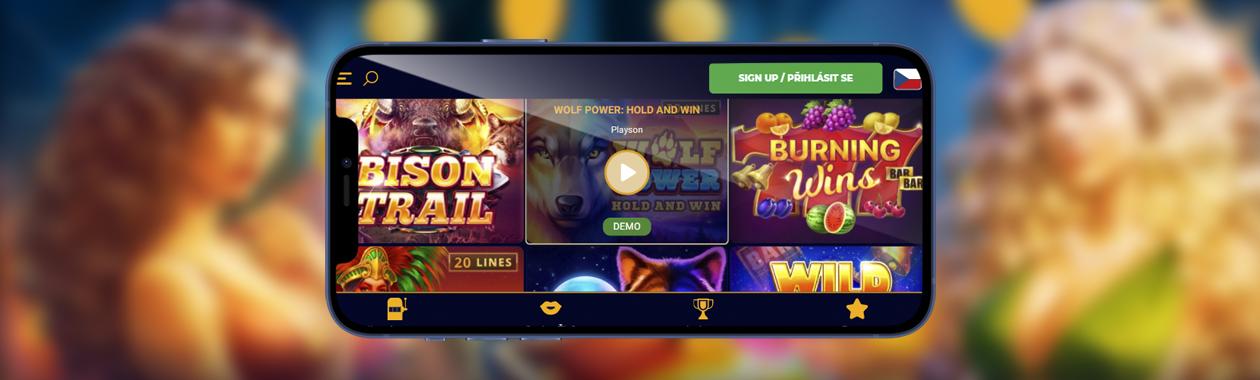 nejlepší online kasino hry zdarma v České republice